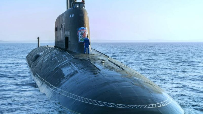 Russia Just Accepted Its New Super-Quiet, Cruise Missile-Packed Submarine Into Service