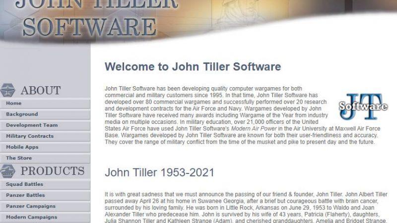 John Tiller 1953-2021