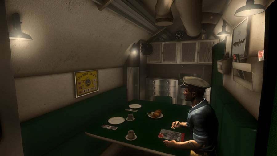 Fleetboat Interior: Officers Quarters