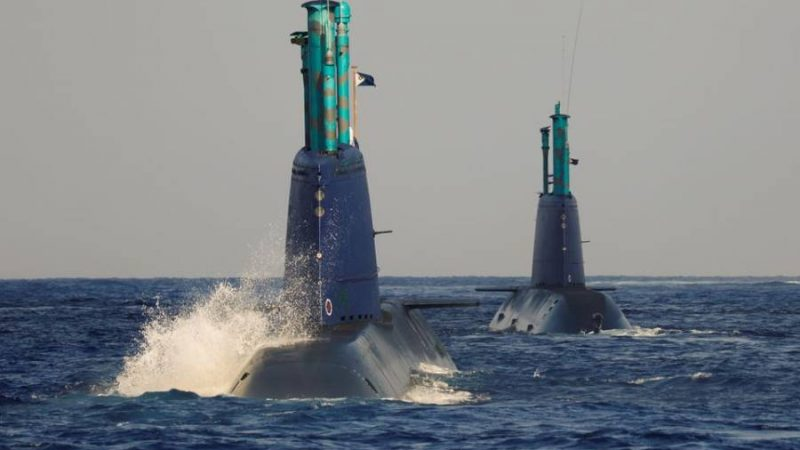 In the belly of the whale: Israeli submarine simulates strike