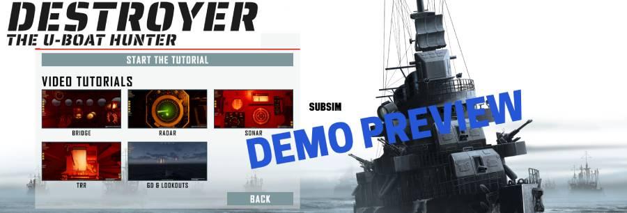 Destroyer – The U-Boat Hunter Demo Preview