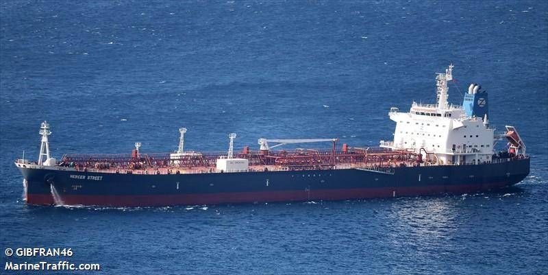 U.S. Navy Says Explosive Drone Attack Killed Two on Merchant Tanker
