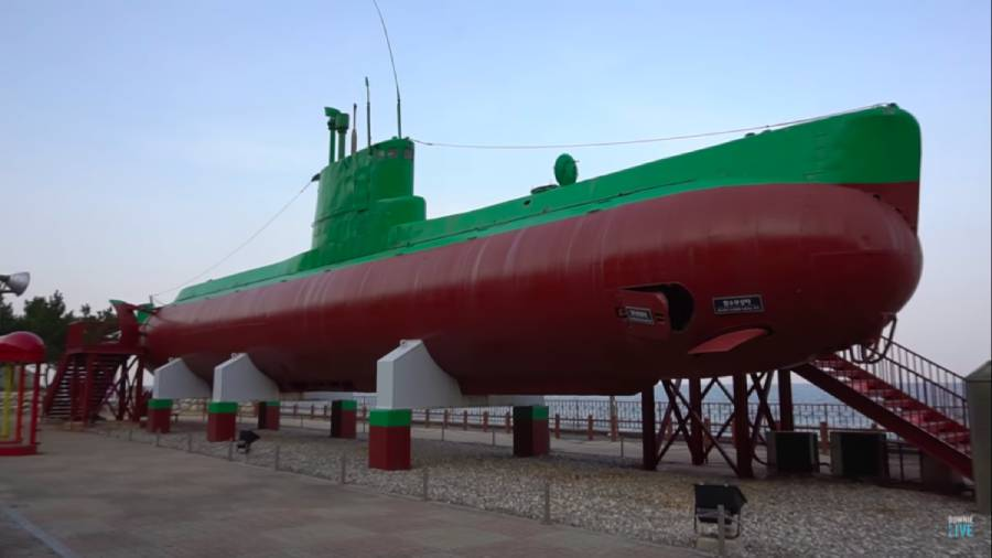 The time a fishing boat helped capture a North Korean submarine