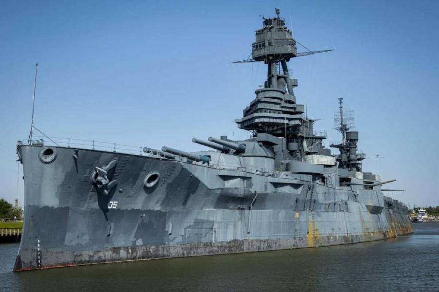 Battleship Texas temporarily open to visitors for July 4th weekend