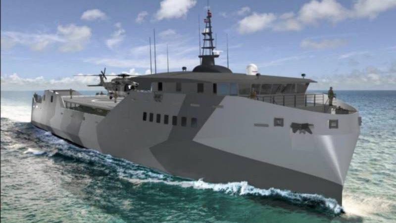 Report to Congress on Navy Light Amphibious Warship
