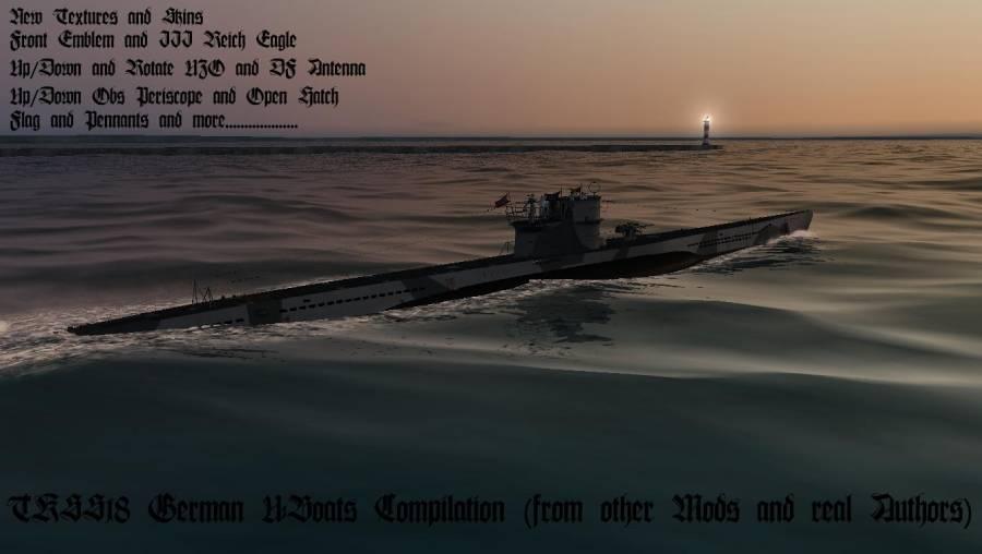 SH3 Mod: German U-Boats Compilation