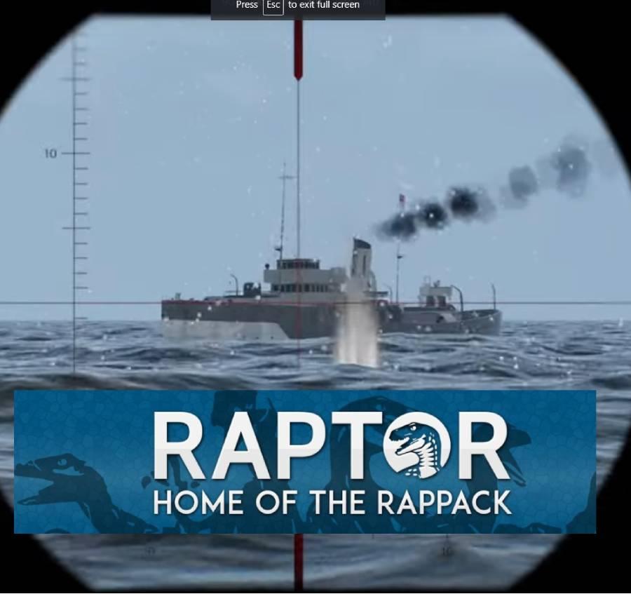 Raptor: Wolfpack Multiplayer UBoat Warfare Simulator Gameplay