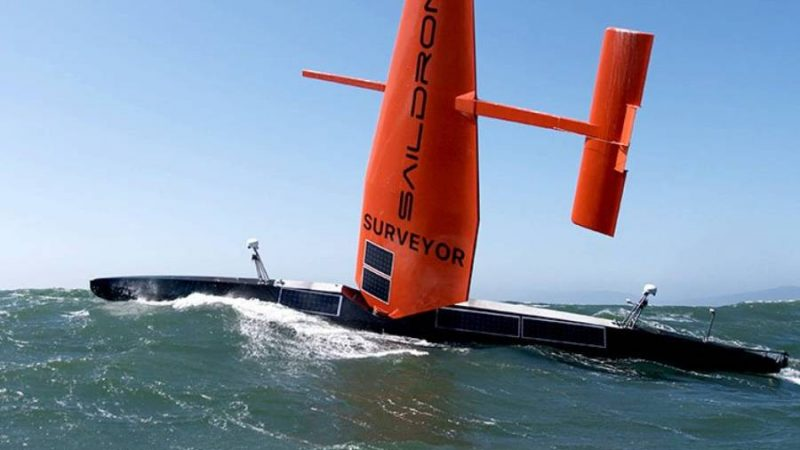 Sail-powered Drone Pitched as High-endurance Submarine Hunter
