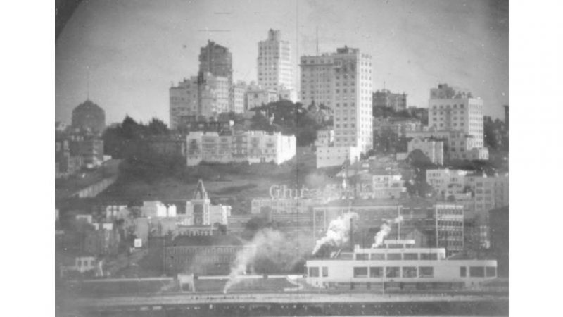 How a submarine periscope saw San Francisco in 1951