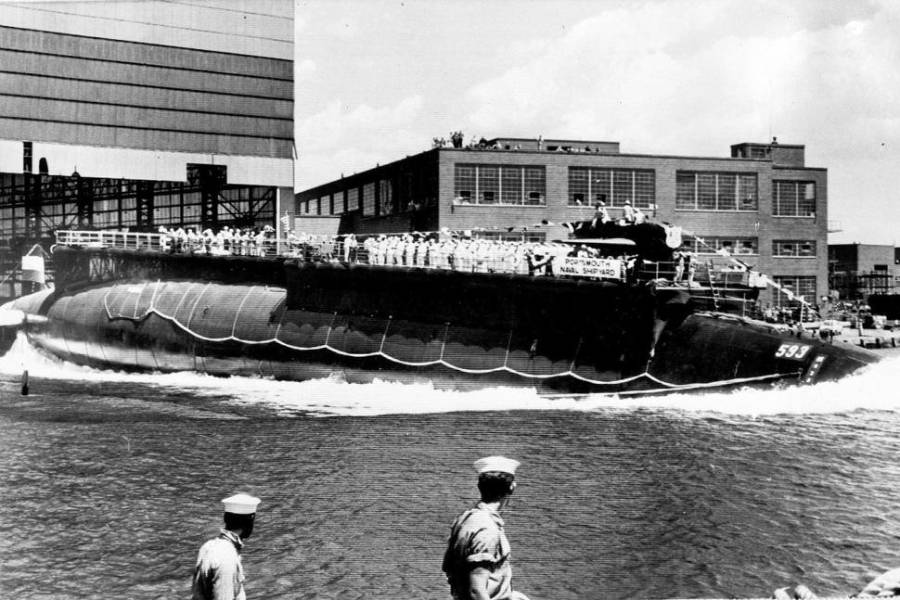 Skipper: Docs Show No Coverup in Thresher Sinking