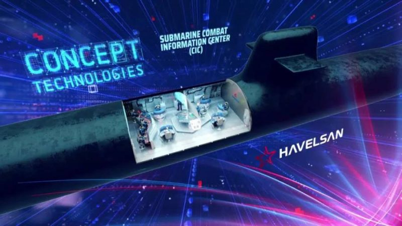 HAVELSAN Unveils Combat Information Center Of Future Submarines