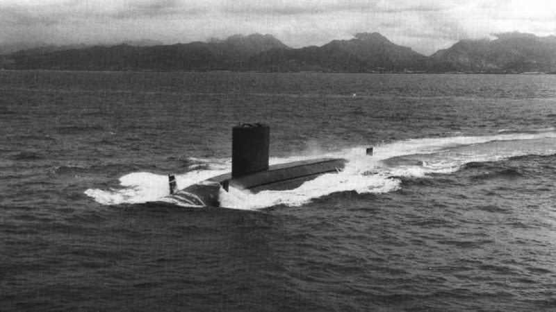 This Was the Navy's Last Conventionally Powered Submarine
