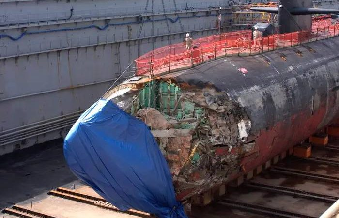 How a US Navy submarine survived a full-speed collision with an undersea mountain