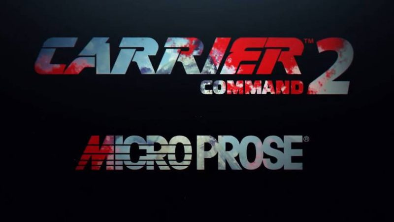 MICROPROSE — stop — CARRIER COMMAND 2 — stop — THEY ARE BACK!