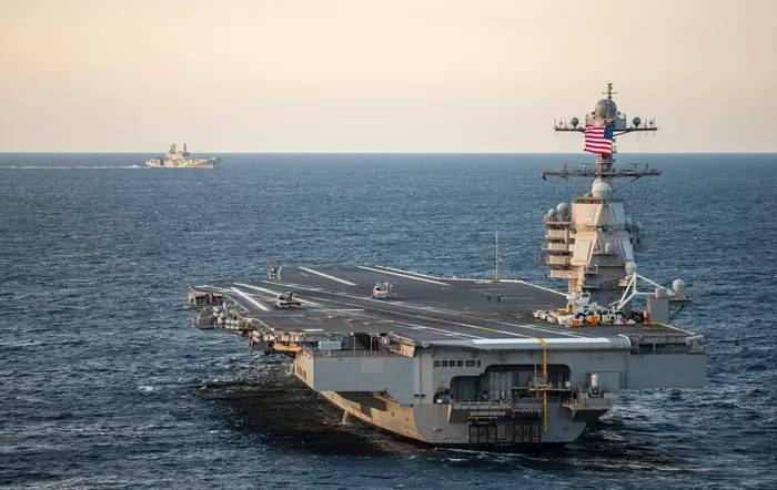 The Navy has started building the next ship in its newest class of carriers