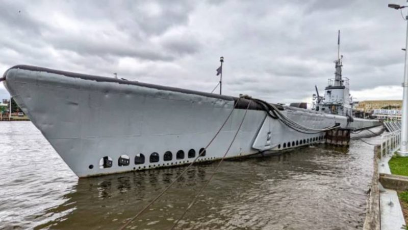 Touring the WWII-era USS Cobia submarine