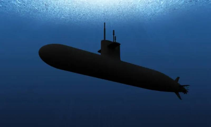 Will all submarines, even nuclear ones, be obsolete and 'visible' by 2040?