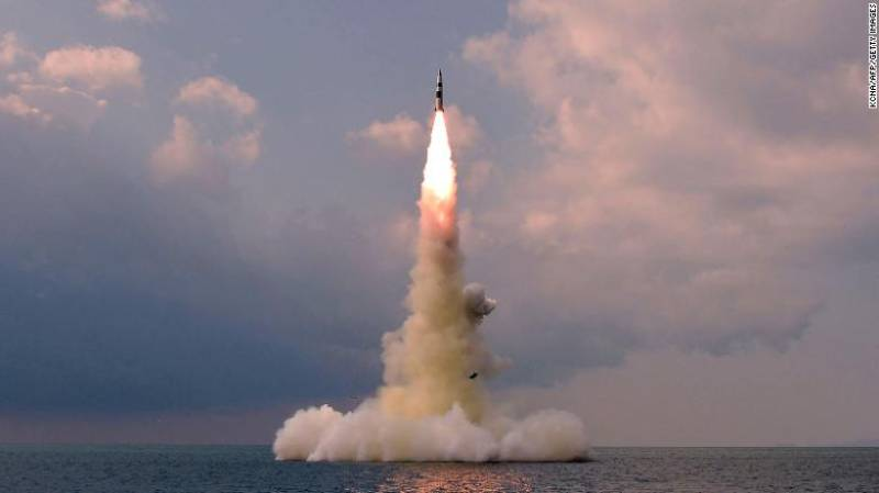 North Korea says its latest ballistic missile test was launched from a submarine