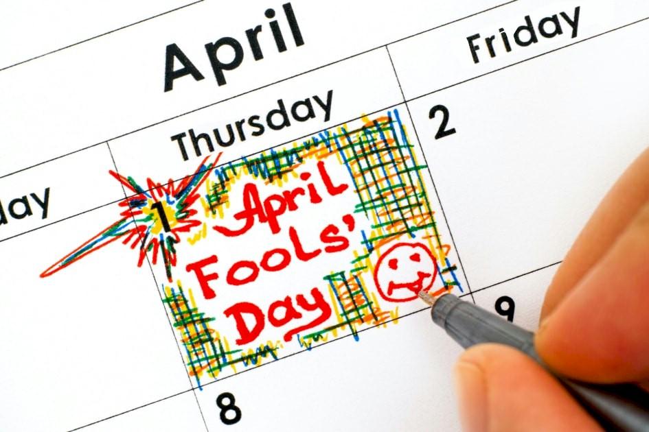 Haw haw! April Fool!